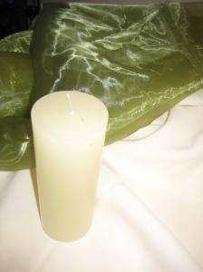 Organza & Candle