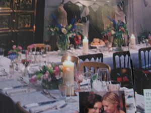 Venetia Dearden photograph of Alice Temperley dinner party