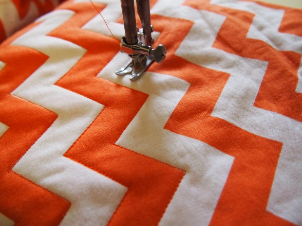 Quilting in Zig Zags