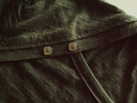 Bronte top with Vintage Buttons